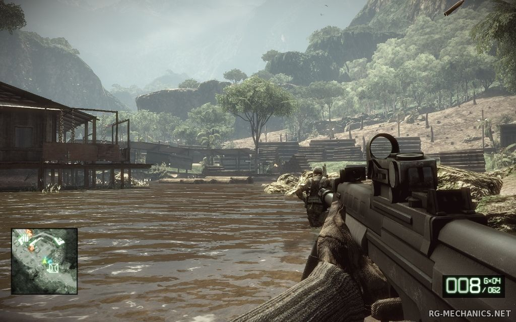 Скриншот 1 к игре Battlefield: Bad Company 2 [Project Rome] (2010) PC | RePack от Canek77