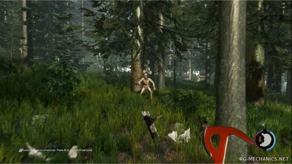 Скриншот к игре The Forest [v 0.34] (2015) PC | SteamRip от R.G. Games