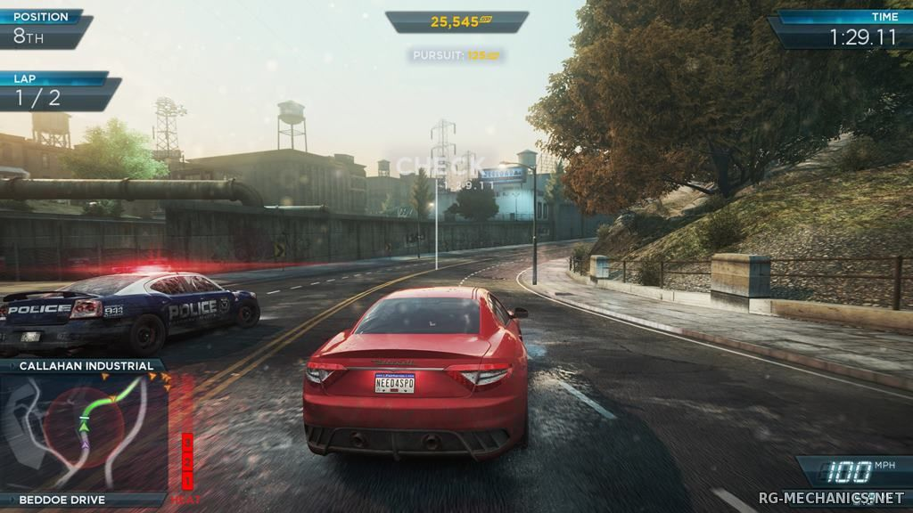 Скриншот к игре Need for Speed: Most Wanted 2012 (2012) PC   RePack от R.G. Catalyst