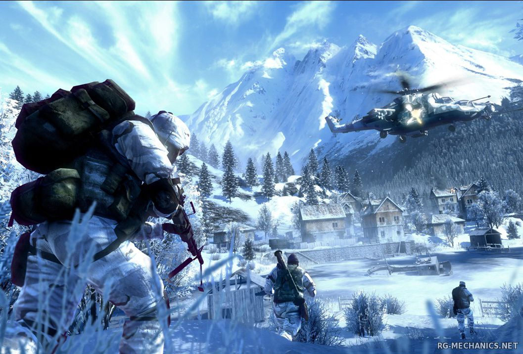 Скриншот 2 к игре Battlefield: Bad Company 2 [Project Rome] (2010) PC | RePack от Canek77