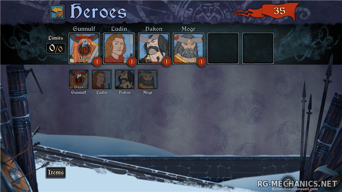 Скриншот 3 к игре The Banner Saga - Deluxe Edition [v 2.28.11] (2014) PC | Steam-Rip от Let'sРlay