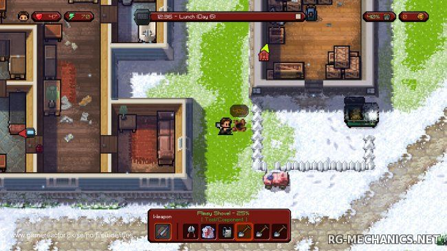 Скриншот к игре The Escapists: The Walking Dead (2015) PC | RePack