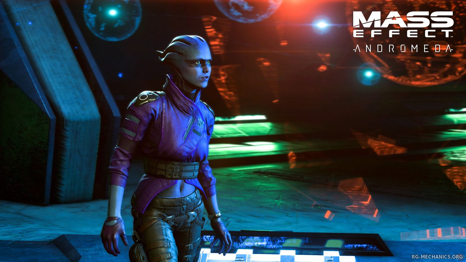 Скриншот к игре Mass Effect: Andromeda - Super Deluxe Edition [v 1.10] (2017) PC | RePack от R.G. Механики