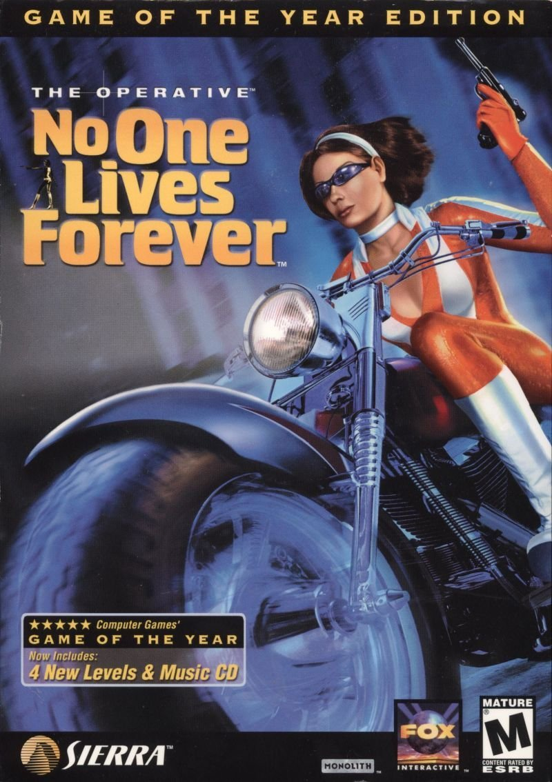 The Operative: No One Lives Forever - Game of the Year Edition v.1.004 (2000-2001) скачать торрент Лицензия