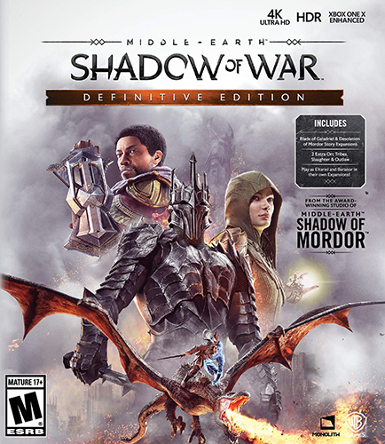 Middle-earth: Shadow of War - Definitive Edition [v 1.21 + DLCs] (2018) (2017)