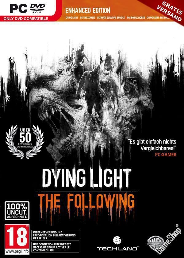 Dying Light: The Following- Enhanced Edition [v 1.31.0 (41655) + DLCs] (2016) скачать торрент RePack