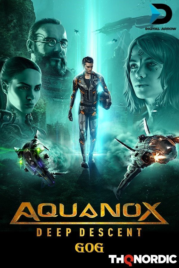 AquaNox Deep Descent - Collector's Edition v.1.1 [GOG] (2020) Лицензия